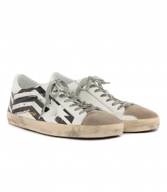 SUPERSTAR SNEAKERS WHITE FLAG