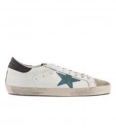 SUPERSTAR SNEAKERS FT BLUE STAR