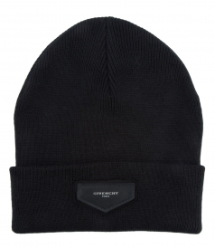 LOGO PATCHED BEANIE