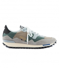 STARLAND SNEAKERS IN CAMOUFLAGE PRINT