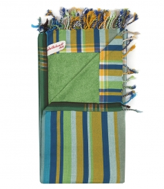 ATUTTOTONDO - STRIPES FASHION BEACH TOWEL IN COTTON
