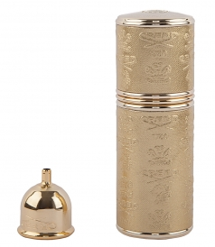 PERFUMES - EMPTY VAPORIZER IN GOLD
