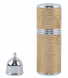 CREED PERFUMES - EMPTY VAPORIZER IN SILVER GOLD