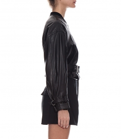 UTILITY LEATHER JACKET