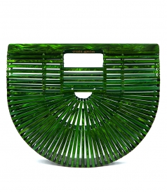 ACRYLIC ARK MALACHITE MINI BAG