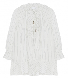 ZIMMERMANN - CORSAIR PINTSTRIPE BLOUSE