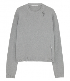 RONIE DISTRESSED SWEATER