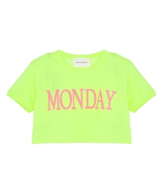 RAINBOW WEEK CROPPED T-SHIRT