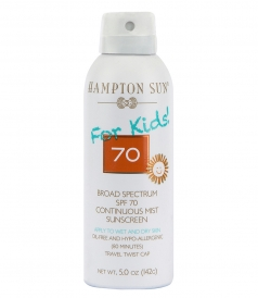 SPF 70 FOR KIDS CONTINUOUS MIST 5 OZ.