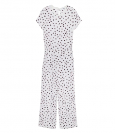 CLOTHES - BUTTERFLY PRINT JUMPSUIT