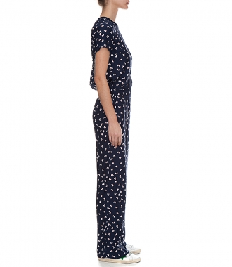 BUTTERFLY PRINT JUMPSUIT