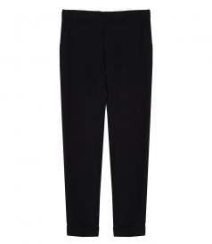 SLIM FIT TROUSERS FT TURN-UPS
