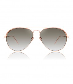 LINDA FARROW LFL594 C7 AVIATOR SUNGLASSES