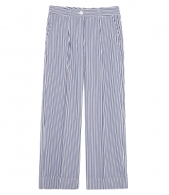 STRIPED LONG TROUSERS