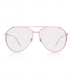 LINDA FARROW 426 C3 AVIATOR SUNGLASSES