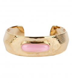 ACCESSORIES - PINK QUARTZ PEGGY BRACELET