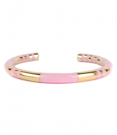 ACTUA POSITANO BANGLE IN BABY PINK
