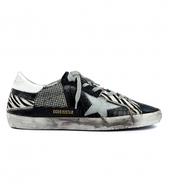 SUPERSTAR SNEAKERS PATCHWORK FT SILVER STAR