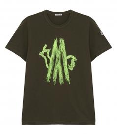 STICHED LOGO T-SHIRT