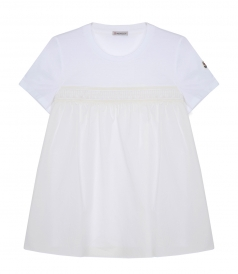 COTTON FLARED T-SHIRT