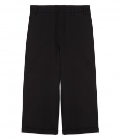 CLOTHES - CROPPED WIDE-LEG TROUSERS