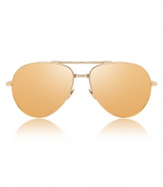 ACCESSORIES - ROSE GOLD 518 C3 CONVERTIBLE AVIATOR SUNGLASSES
