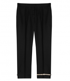 CLOTHES - NOTCHED HEM SKINNY TROUSER