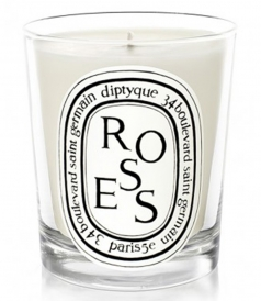 CANDLES - ROSES SCENTED CANDLE 190g/6.5oz