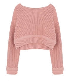 T BY ALEXANDER WANG - CHUNKY KNIT PULLOVER
