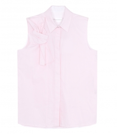 SHIRTS - SLEEVELESS BOW SHIRT