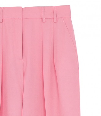 TWO PLEAT PINK PANTS