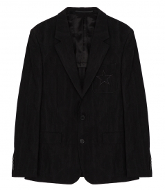 GIVENCHY - COTTON BLEND CLASSIC BLAZER