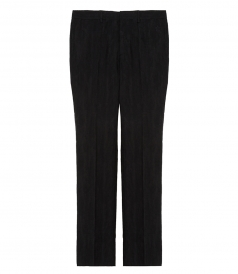GIVENCHY - JACQUARD TEXTURED TROUSERS