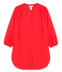 CLOTHES - CHINESE RED SHIRT