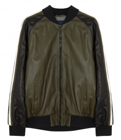 CLOTHES - TWO-TONE BOMBER JACKET