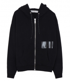 PEYTON ZIPPED HOODED SWEATER