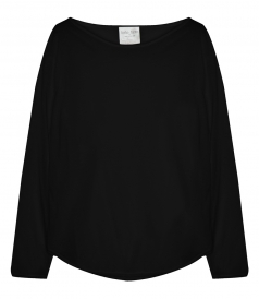 CLOTHES - COTTON JERSEY LONG SLEEVES TEE