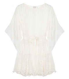 BREEZE VEIL MINI DRESS