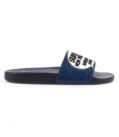 NEW BASILES DENIM SANDAL