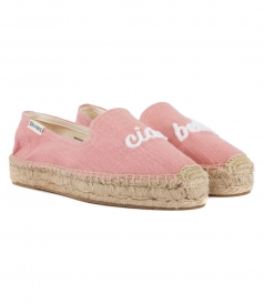 SHOES - CIAO BELLA PLATFORM SMOKING SLIPPER