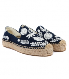 SHOES - IBIZA PLATFORM SMOKING SLIPPER