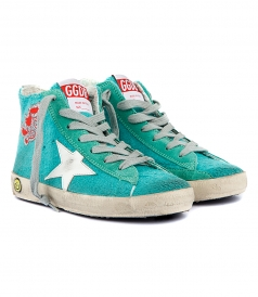 SHOES - FRANCY SNEAKERS IN EMERALD GREEN
