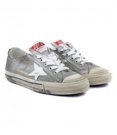 V STAR 2 SNEAKERS IN SILVER