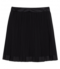 SILK CREPE MINI SKIRT