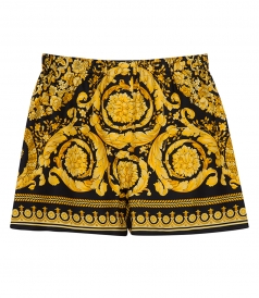 BAROQUE PRINTED SHORTS