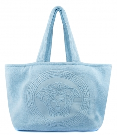 MEDUSA TOTE BAG IN LIGHT BLUE
