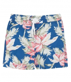 ACHILLE ALOHA FLOWERS REGULAR SWIMSHORT