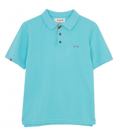 CLOTHES - HEAVY MENDING POLO REGULAR FIT