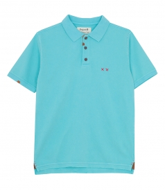 CLOTHES - HEAVY MENDING POLO SLIM FIT