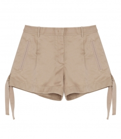 ELASTICATED HEM SHORTS